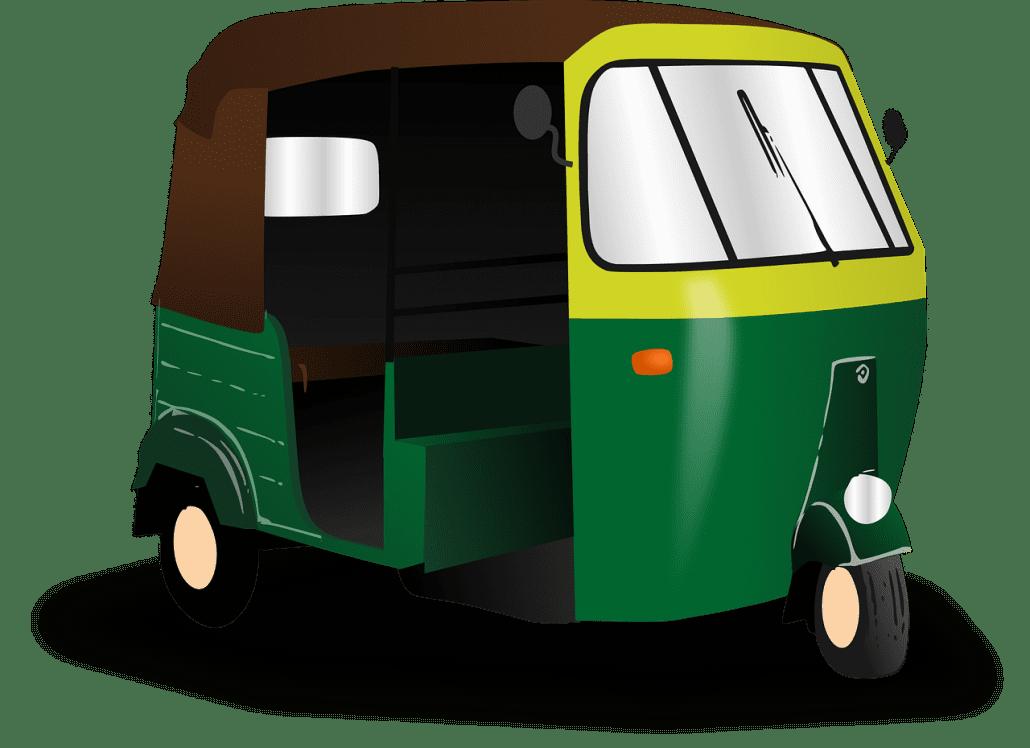 rickshaw, india, transport